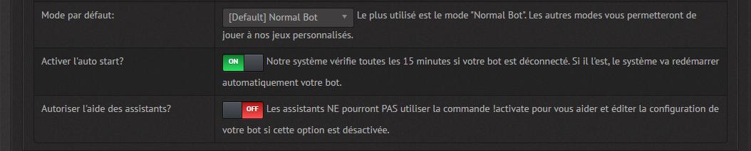 FEXBots - Bot setup tutorial
