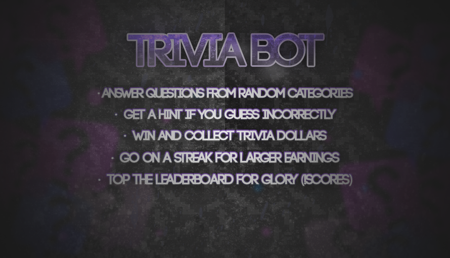 Think you're smart enough to reach the leaderboards on Trivia?